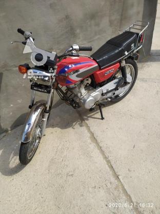 موتور سیکلت 125cc تمیز