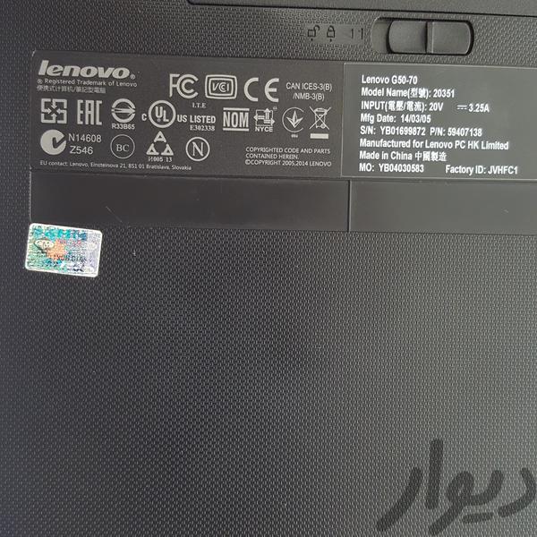 لپ تاب Lenovo G5070